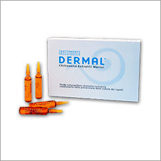 DERMAL CHITOSAN HAIR LOSS PHIALS